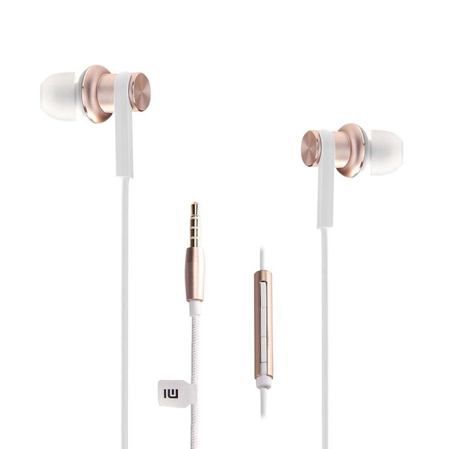Наушники XIAOMI Mi Hybrid Earphone, вкладыши, золотистый, проводные diy stainless steel motor universal coupling 5 x 5mm