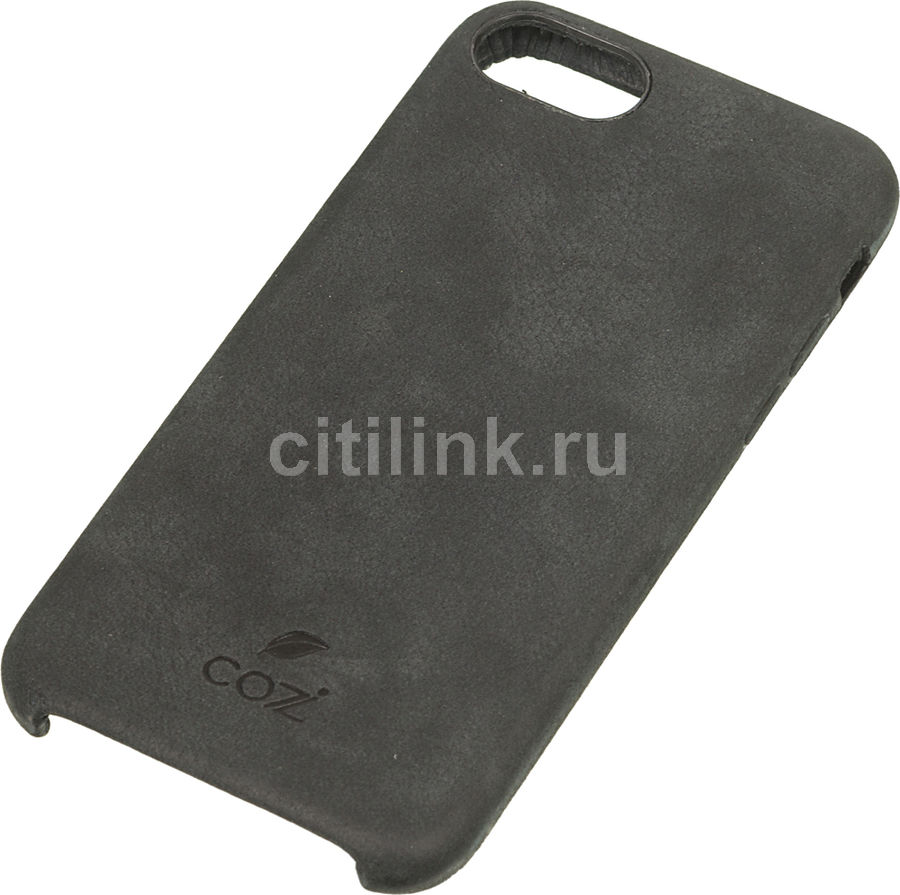 Чехол (клип-кейс) Cozistyle Cozi Green, для Apple iPhone 7/8, черный [cglc7010] apple чехол клип кейс apple для apple iphone 7 mmy52zm a черный
