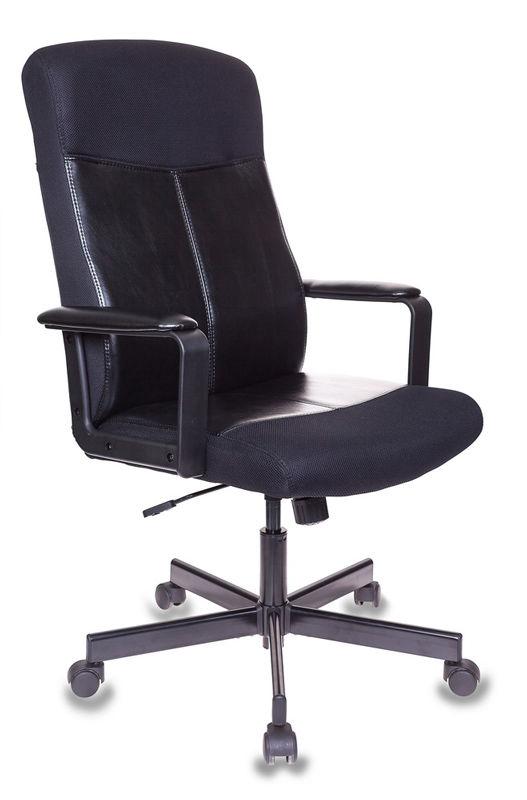 Кресло руководителя БЮРОКРАТ DOMINUS, на колесиках, искусственная кожа/сетка [dominus-ktw]