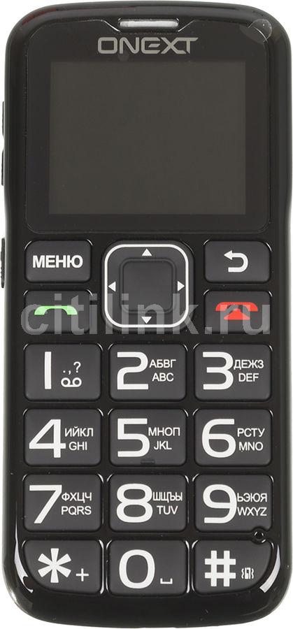 Купить Мобильный телефон ONEXT Care-Phone 5  черный по выгодной цене в интернет-магазине СИТИЛИНК - Москва