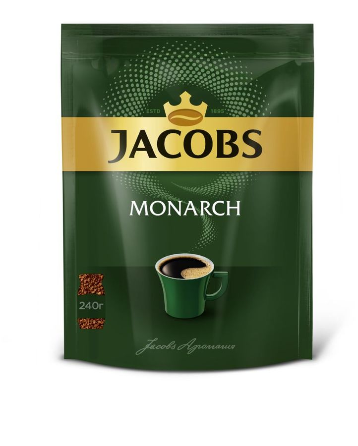 расторимый JACOBS MONARCH Monarch, 240грамм [4251927]