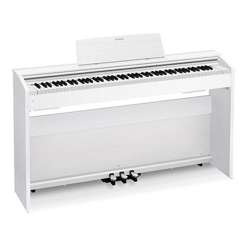 Цифровое фортепиано PRIVIA CASIO PX-870WE, 88, полновзвешенная, полноразмерные, 256, белый