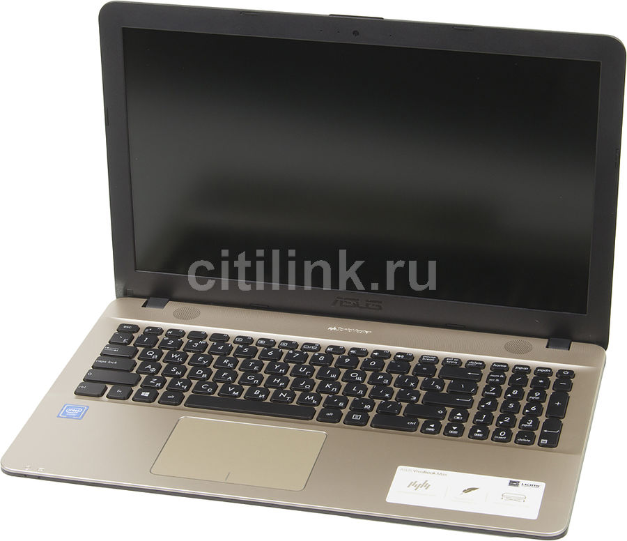 Ноутбук ASUS R541NA-GQ448T, 15.6, Intel Celeron N3350 1.1ГГц, 4Гб, 500Гб, Intel HD Graphics 500, Windows 10, 90NB0E81-M08300, черный ноутбук asus x553sa xx137d 15 6 intel celeron n3050 1 6ghz 2gb 500tb hdd 90nb0ac1 m05820