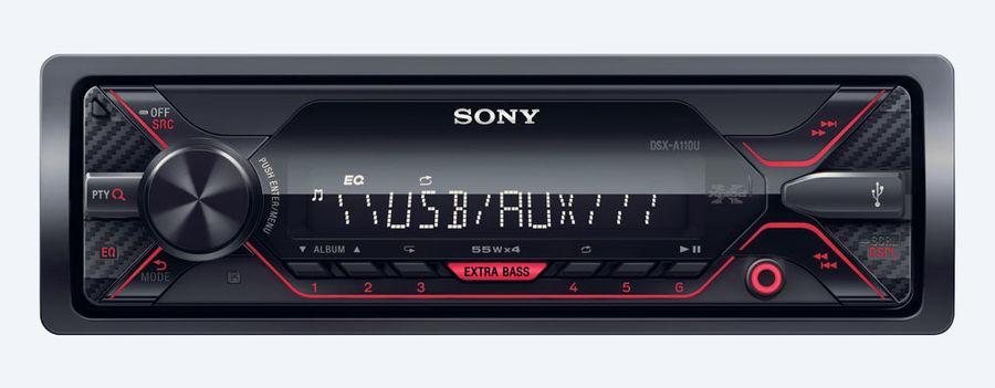 Автомагнитола SONY DSX-A110U,  USB