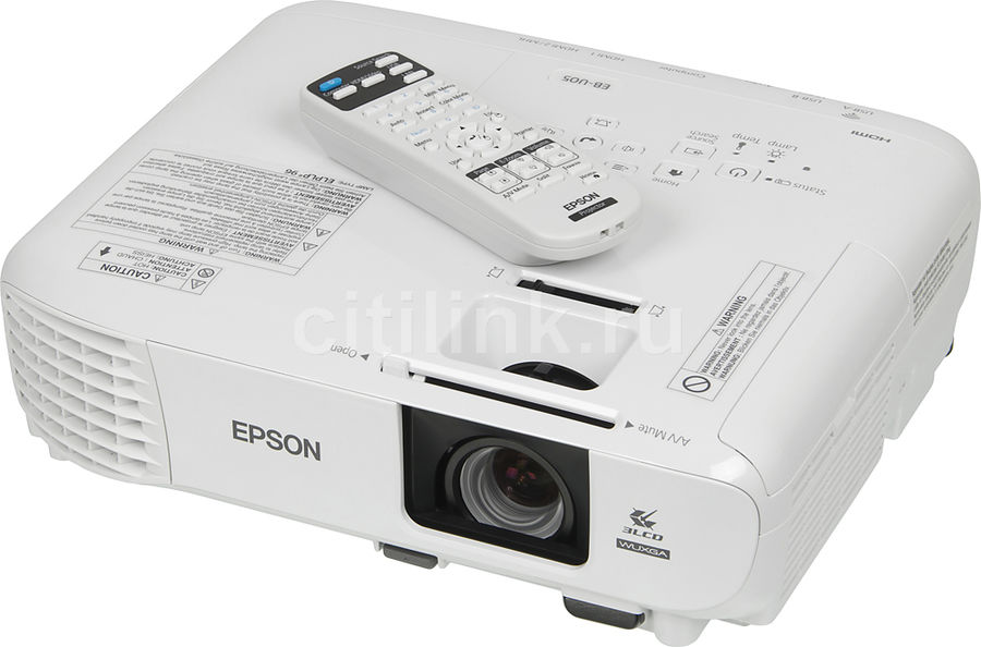 Проектор EPSON EB-U05 белый [v11h841040]