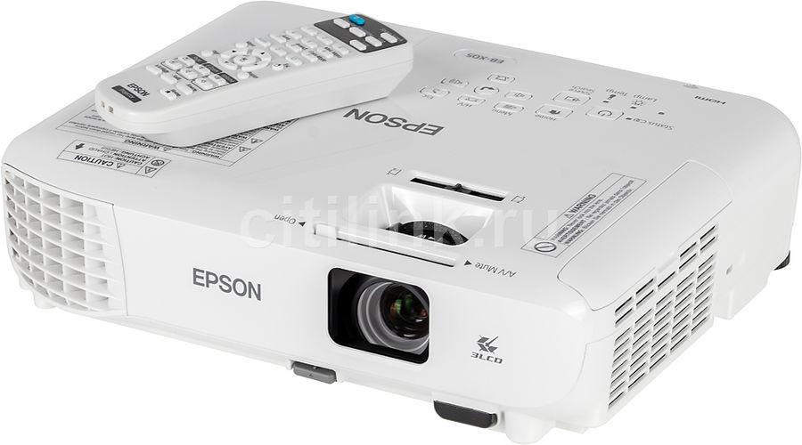 Проектор EPSON EB-X05 белый [v11h839040] V11H839040