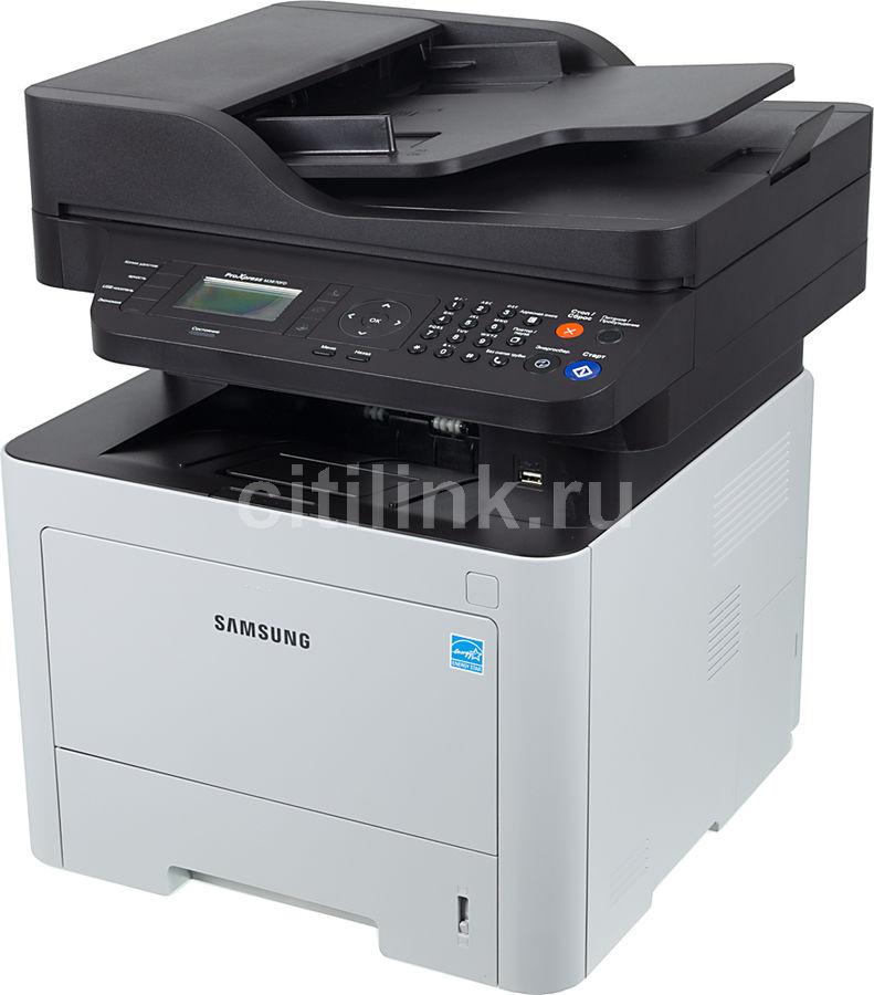 МФУ лазерный SAMSUNG SL-M3870FD/XEV,  A4,  лазерный,  белый [ss377g]