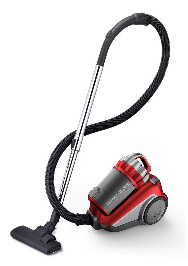 Пылесос DAEWOO RCH-210R, 2200Вт, красный