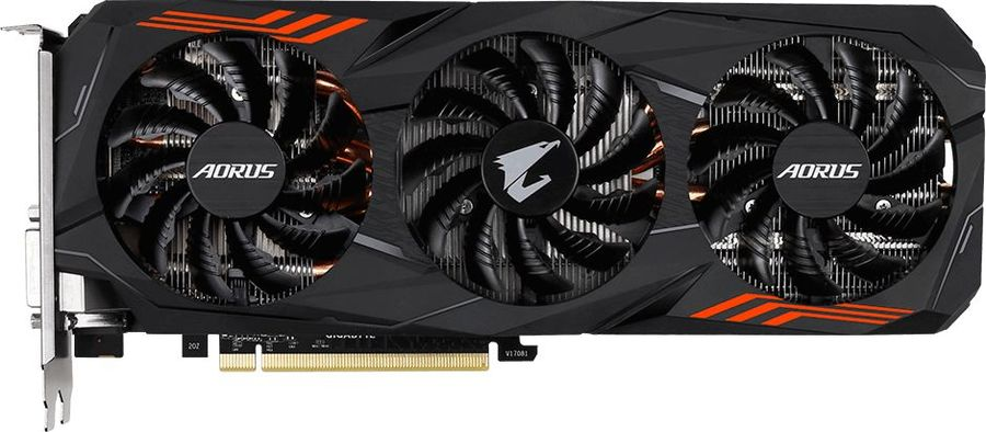 Видеокарта GIGABYTE nVidia  GeForce GTX 1070Ti ,  GV-N107TAORUS-8GD,  8Гб, GDDR5, Ret