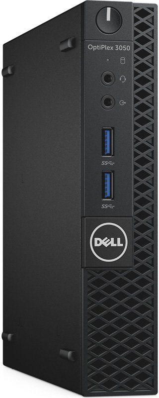 Компьютер  DELL Optiplex 3050,  Intel  Pentium  G4400T,  DDR4 4Гб, 500Гб,  Intel HD Graphics 510,  DVD-RW,  Linux,  черный [3050-0498]