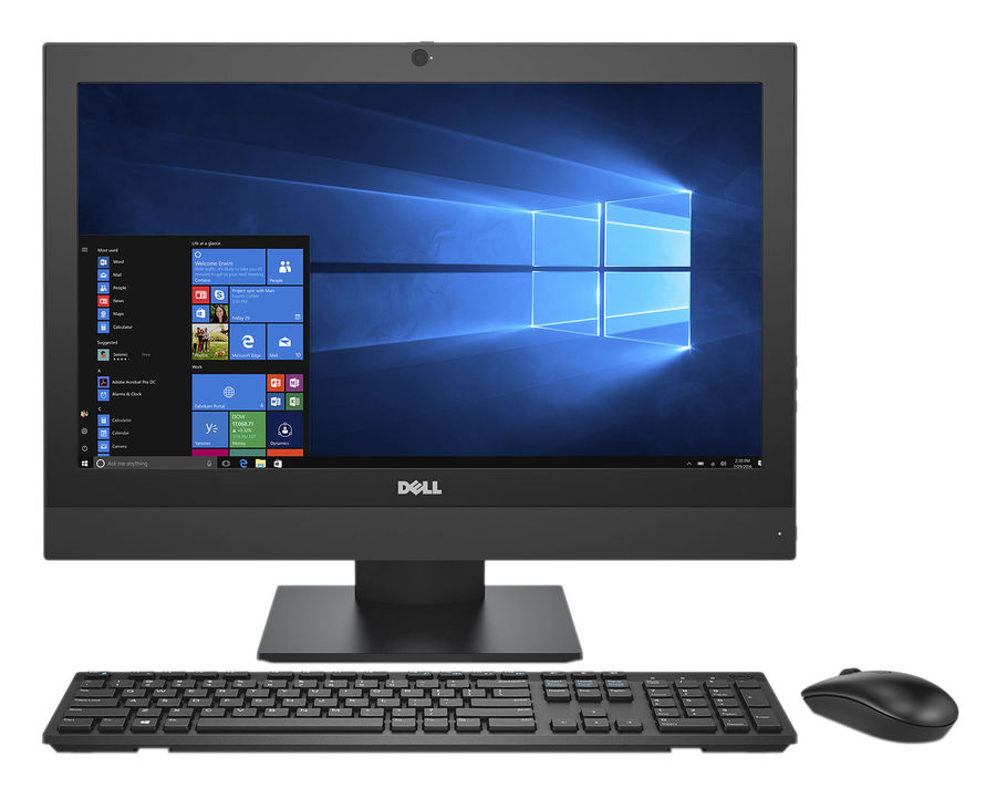 Моноблок Dell Optiplex 5250 21.5 Full HD i5 6500/8Gb/1Tb 7.2k/HDG530/DVDRW/W10Pro/kb/m/черный 1920x [5250-2615]Моноблоки<br><br><br>Линейка: Optiplex