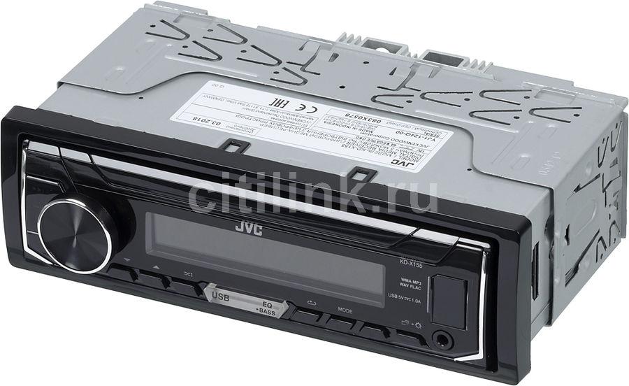 Автомагнитола JVC KD-X155,  USB