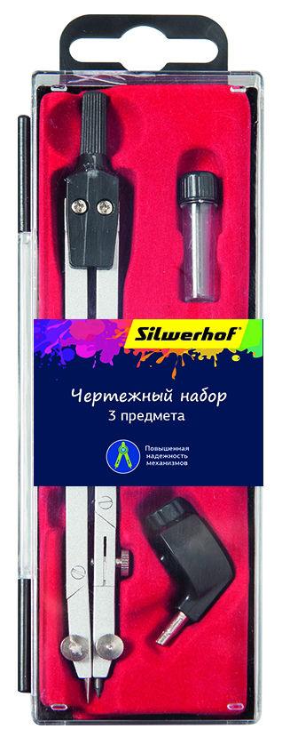 Готовальня Silwerhof 540119 в компл.:3 предмета