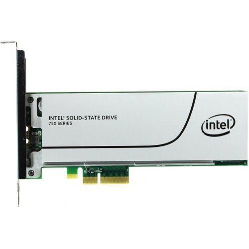 SSD накопитель INTEL 750 Series SSDPEDMW800G4X1 800Гб, PCI-E AIC (add-in-card), PCI-E x4,  NVMe