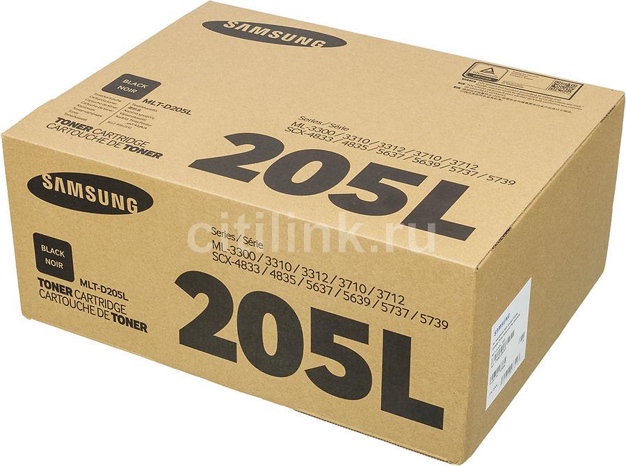 Картридж SAMSUNG MLT-D205L, черный [su965a]