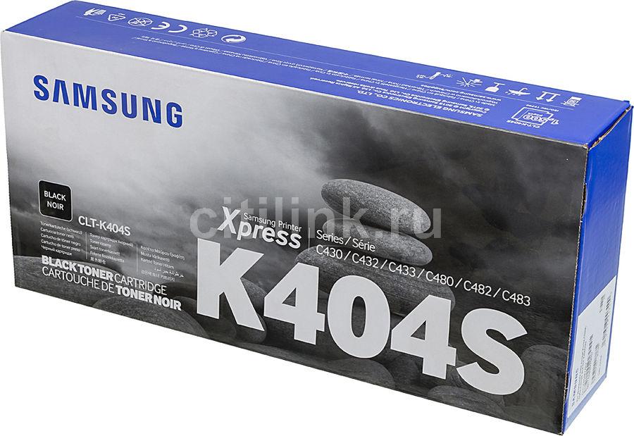 Картридж SAMSUNG CLT-K404S, черный [su108a]