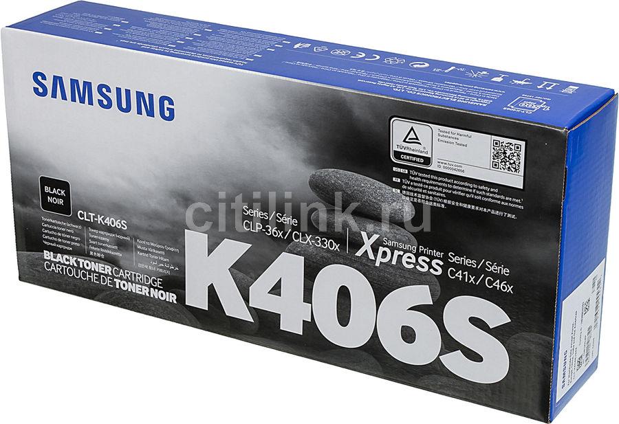 Картридж SAMSUNG CLT-K406S черный [su120a]