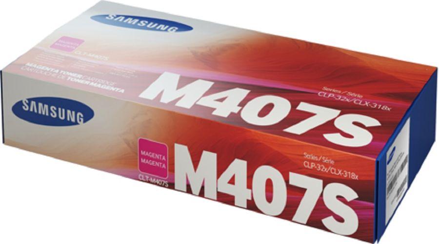 Картридж SAMSUNG CLT-M407S, пурпурный [su266a]