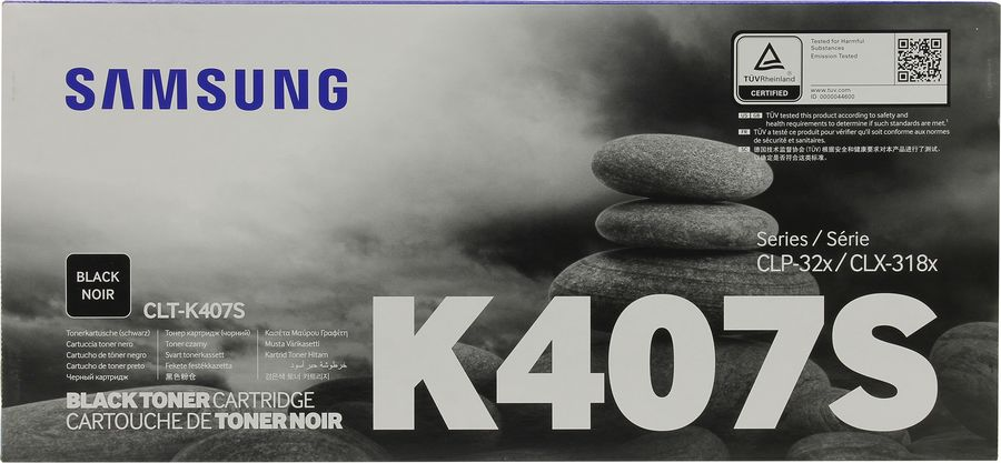 Картридж SAMSUNG CLT-K407S черный [su132a]