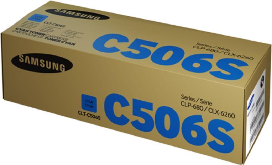 Картридж SAMSUNG CLT-C506S голубой [su049a]
