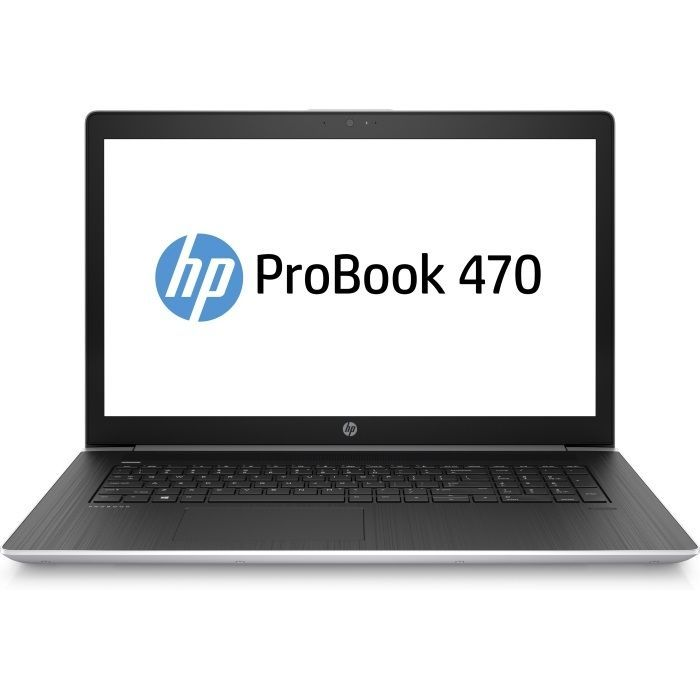 "Ноутбук HP ProBook 470 G5, 17.3"",  Intel  Core i5  8250U 1.6ГГц, 8Гб, 1000Гб,  nVidia GeForce  930MX - 2048 Мб, Windows 10 Professional, 2RR89EA,  серебристый"