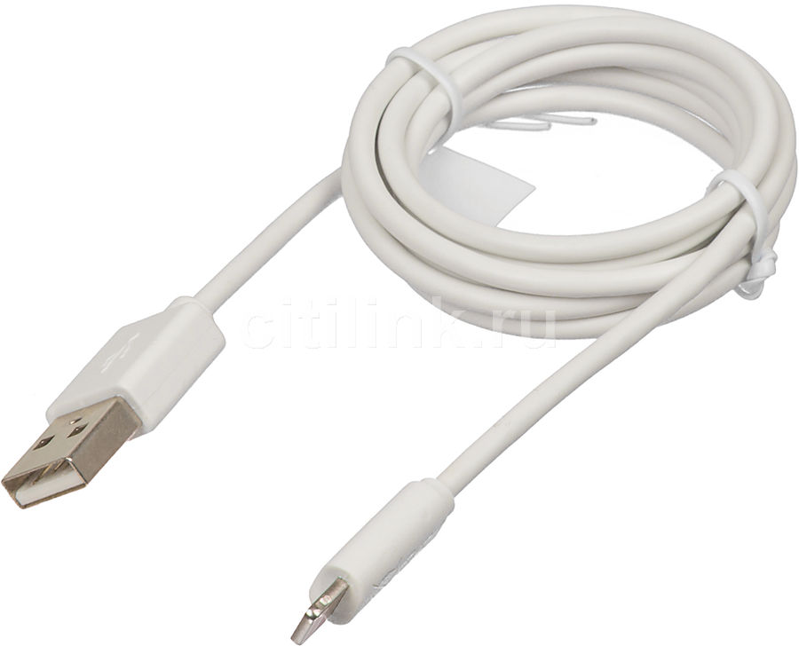 Кабель HAMA H-173863,  USB A(m),  Lightning (m),  1м,  MFI,  белый [00173863]