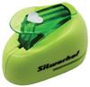 Дырокол Silwerhof Сердце 394031 пластик зеленый отв.:1