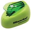 Дырокол Silwerhof Звезды 394035 пластик зеленый отв.:1 вид 1
