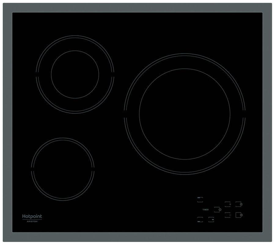 Варочная панель HOTPOINT-ARISTON HR 603 X,  Hi-Light,  независимая,  черный