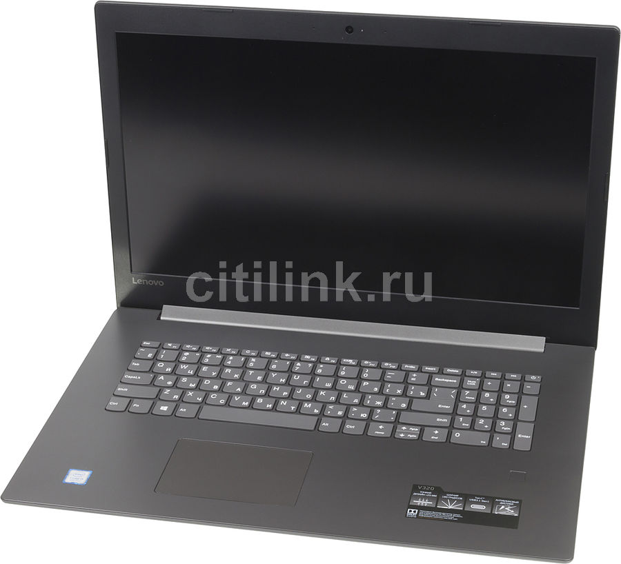 Ноутбук LENOVO V320-17IKB, 17.3, Intel Core i5 8250U 1.6ГГц, 8Гб, 256Гб SSD, Intel UHD Graphics 620, DVD-RW, Windows 10 Professional, 81CN000BRU, черныйНоутбуки<br>экран: 17.3;  разрешение экрана: 1920х1080; тип матрицы: IPS; процессор: Intel Core i5 8250U; частота: 1.6 ГГц (3.4 ГГц, в режиме Turbo); память: 8192 Мб, DDR4; SSD: 256 Гб; Intel UHD Graphics 620; DVD-RW; WiFi;  Bluetooth; HDMI;  Windows 10 Professional<br>