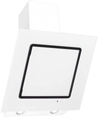 Вытяжка каминная Elikor Оникс 60П-1000-Е4Д белый/белый управление: сенсорное (1 мотор)