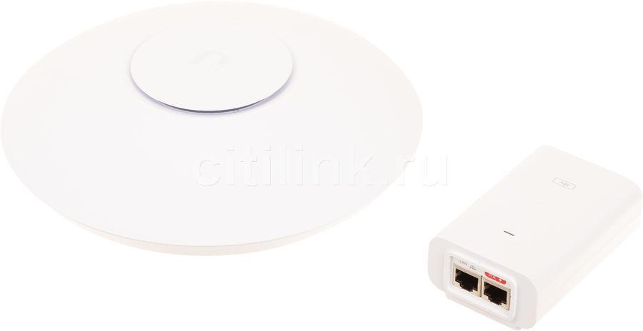 Точка доступа UBIQUITI UAP-AC-HD,  белый [uap-ac-hd-eu]