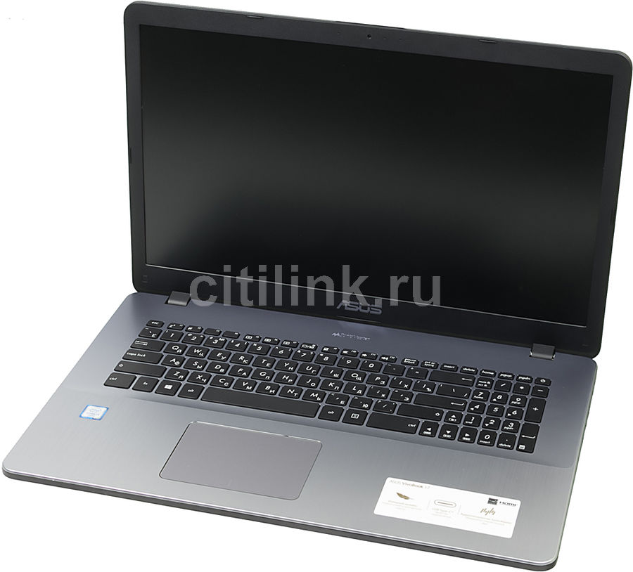 Ноутбук ASUS X705UV-BX226T, 17.3, Intel Core i3 6006U 2.0ГГц, 8Гб, 1000Гб, nVidia GeForce 920MX - 2048 Мб, Windows 10, серый [90nb0ew2-m02460]Ноутбуки<br>экран: 17.3;  разрешение экрана: 1600х900; процессор: Intel Core i3 6006U; частота: 2.0 ГГц; память: 8192 Мб, DDR4; HDD: 1000 Гб, 5400 об/мин; nVidia GeForce 920MX - 2048 Мб; WiFi;  Bluetooth; HDMI; WEB-камера; Windows 10<br>