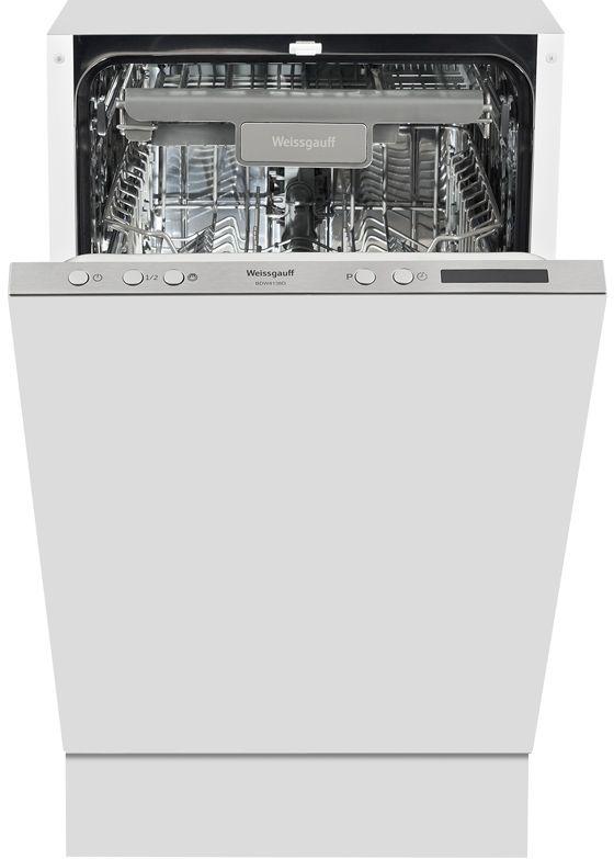 Посудомоечная машина компактная WEISSGAUFF 4138 D,  белый
