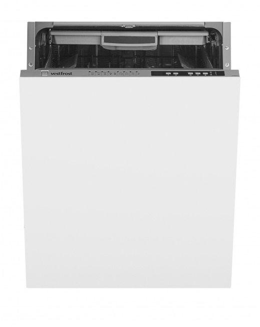 Посудомоечная машина полноразмерная VESTFROST VFDW 6041,  нержавеющая сталь