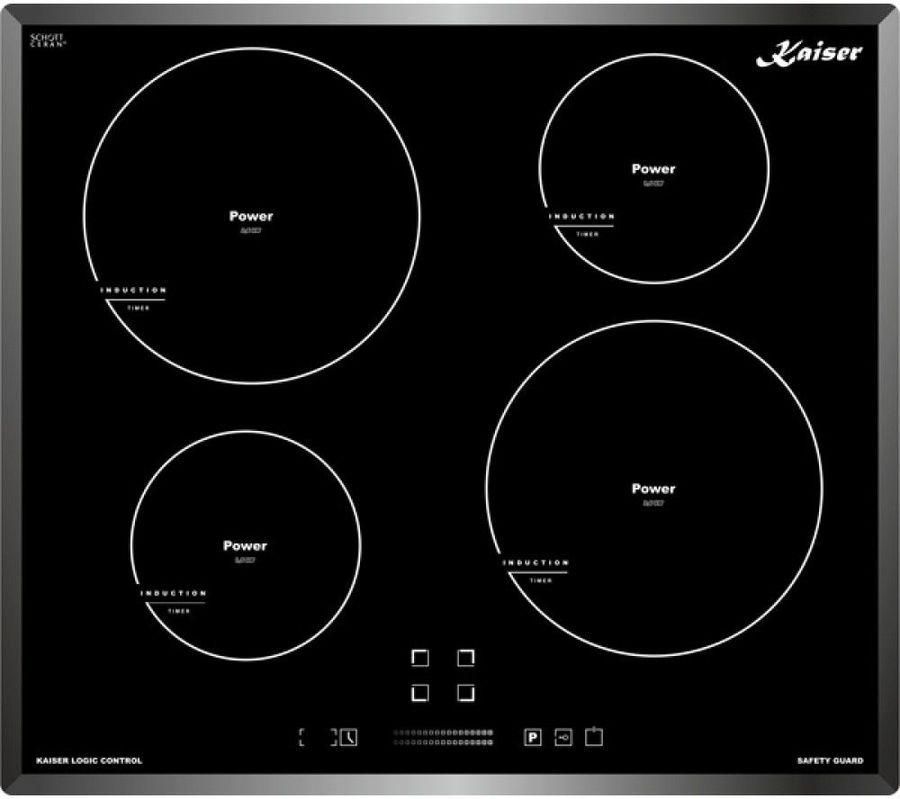 Индукционная варочная панель KAISER KCT 6505 FIN,  индукционная,  независимая,  черный
