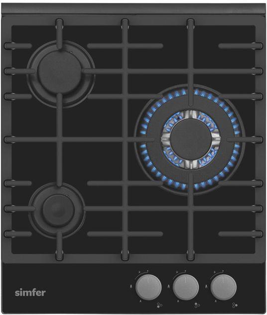 Варочная панель SIMFER H45L35B511,  независимая,  черный