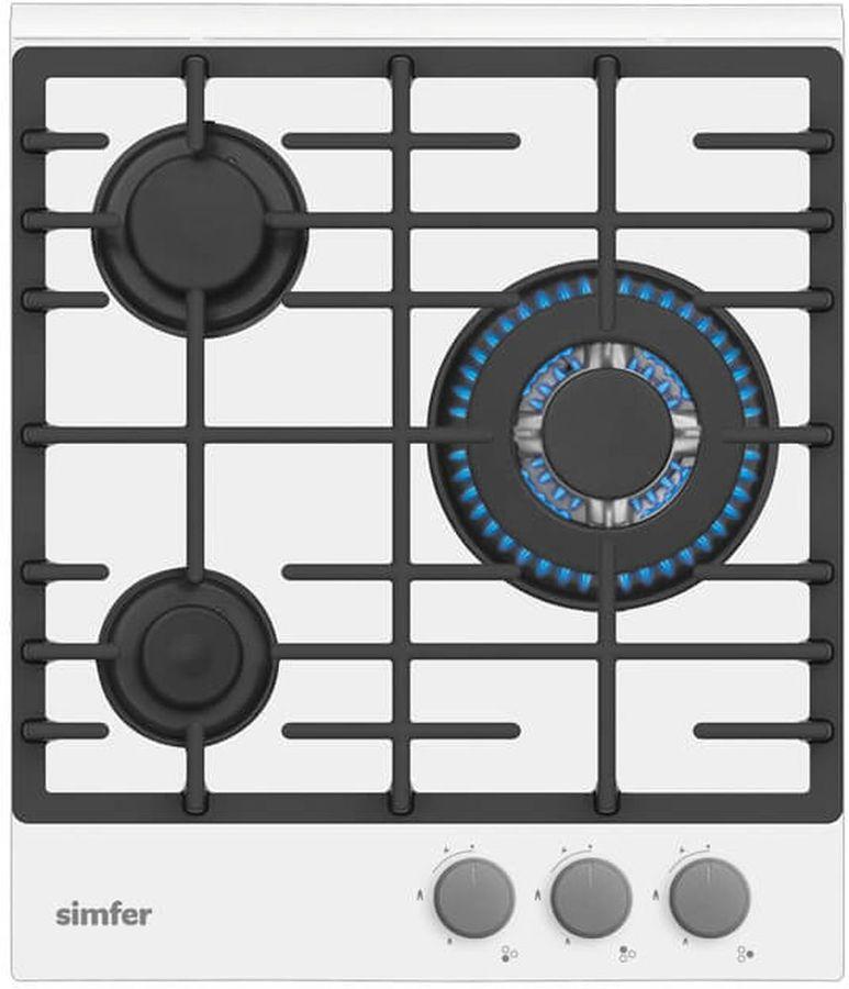 Варочная панель SIMFER H45L35W511,  независимая,  белый