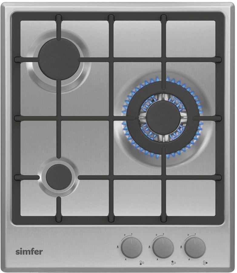Варочная панель SIMFER H45V35M512,  независимая,  серебристый
