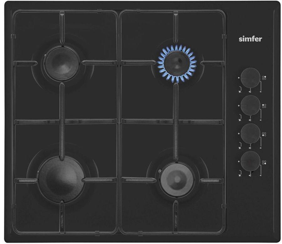 Варочная панель SIMFER H 60Q40 B411,  независимая,  черный