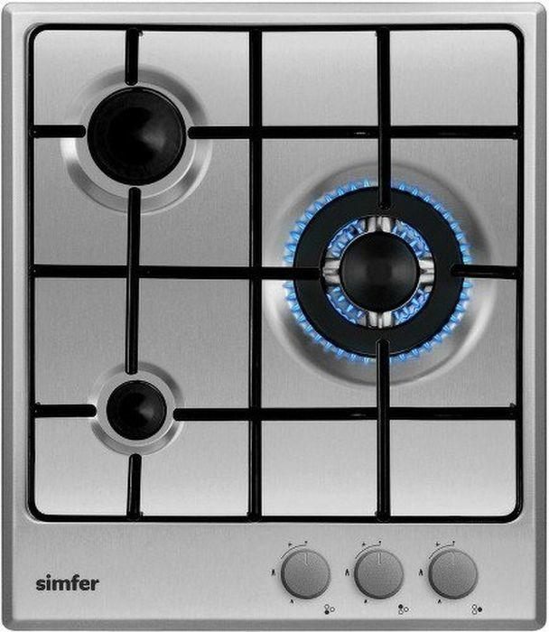 Варочная панель SIMFER H45V35M411,  независимая,  серебристый