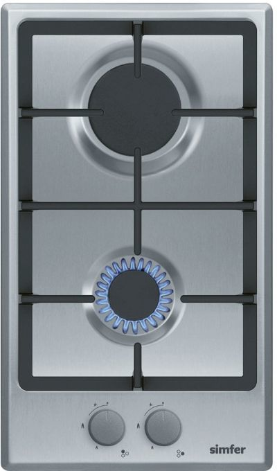 Варочная панель SIMFER H 30V20 M511,  независимая,  нержавеющая сталь