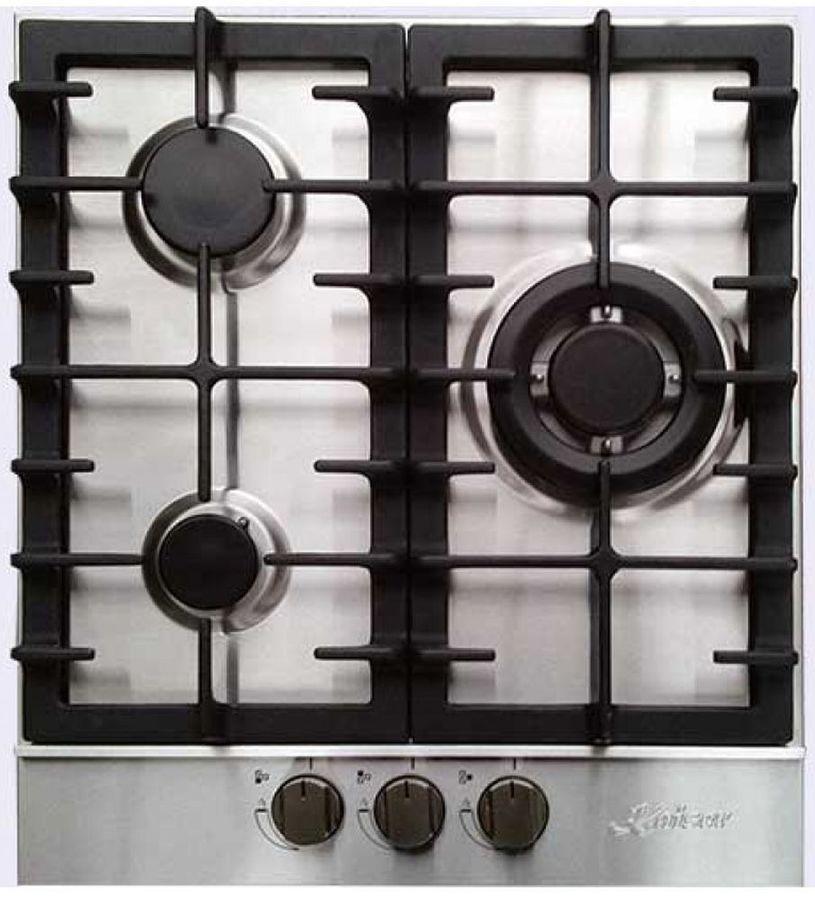 Варочная панель KAISER KG 4350 Turbo,  независимая,  серый