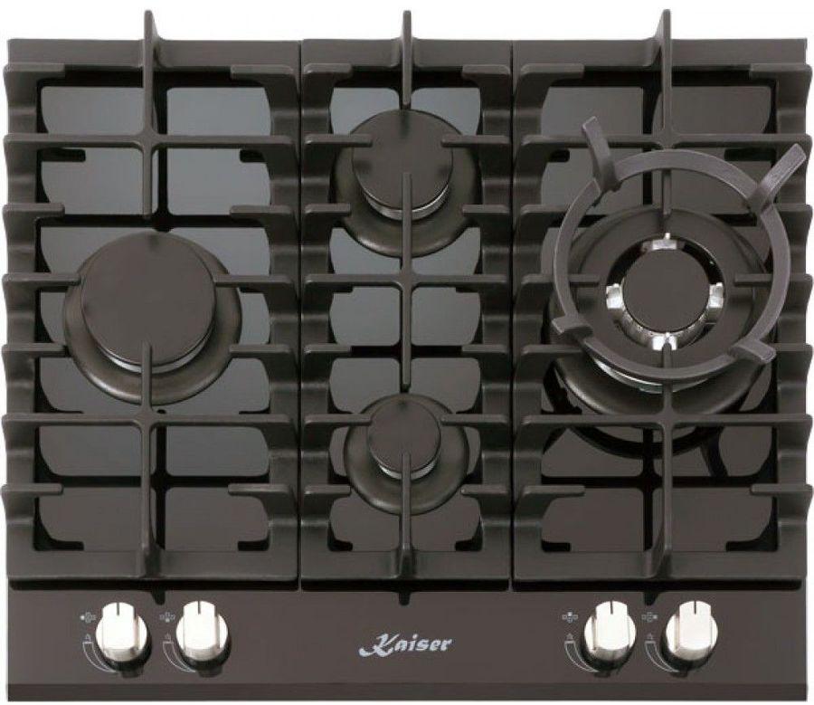 Варочная панель KAISER KCG 6390 Turbo Romb,  независимая,  черный
