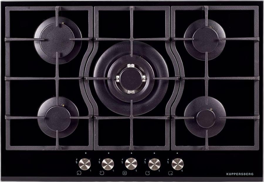 Варочная панель KUPPERSBERG FQ7TG B,  независимая,  стекло черное