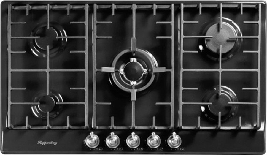 Варочная панель KUPPERSBERG FV9TGRZANT Silver,  независимая,  антрацит