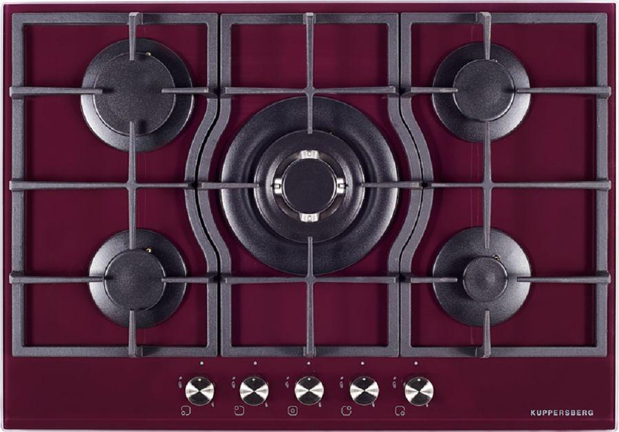 Варочная панель KUPPERSBERG FQ7TG L,  независимая,  бордовый