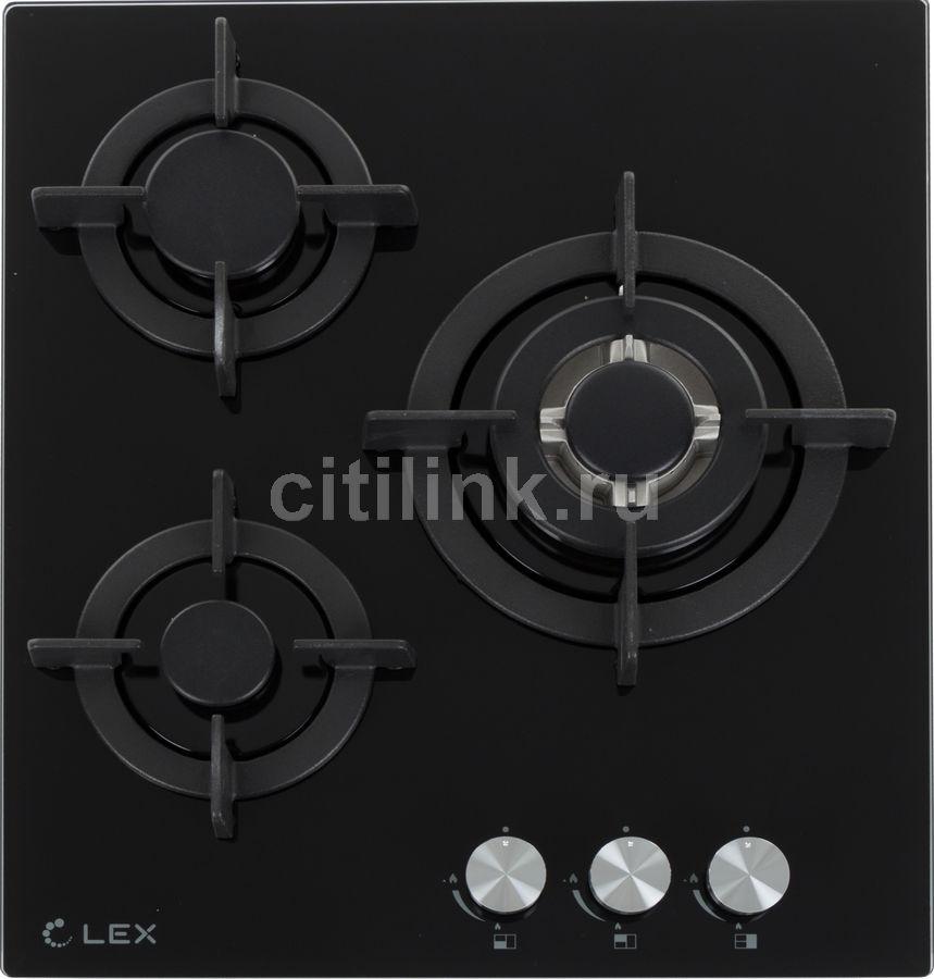 Варочная панель LEX GVG 430 BL,  независимая,  черный