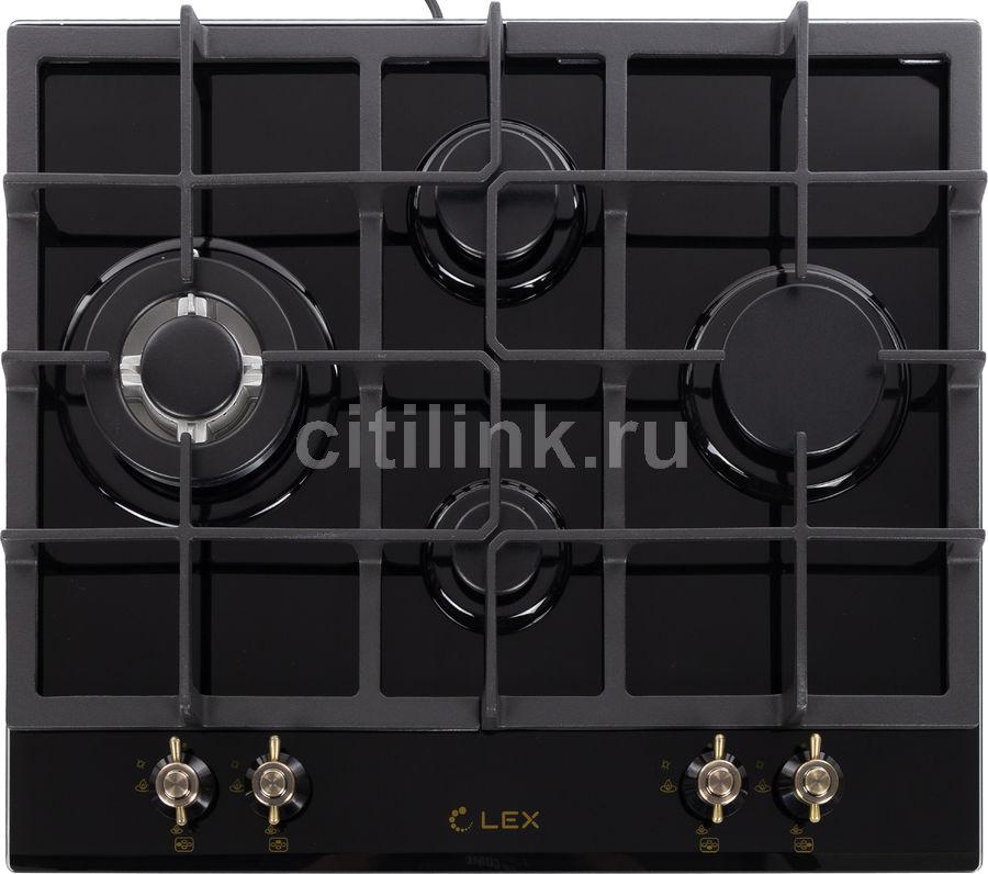 Варочная панель LEX GVG 643 C BL,  независимая,  черный