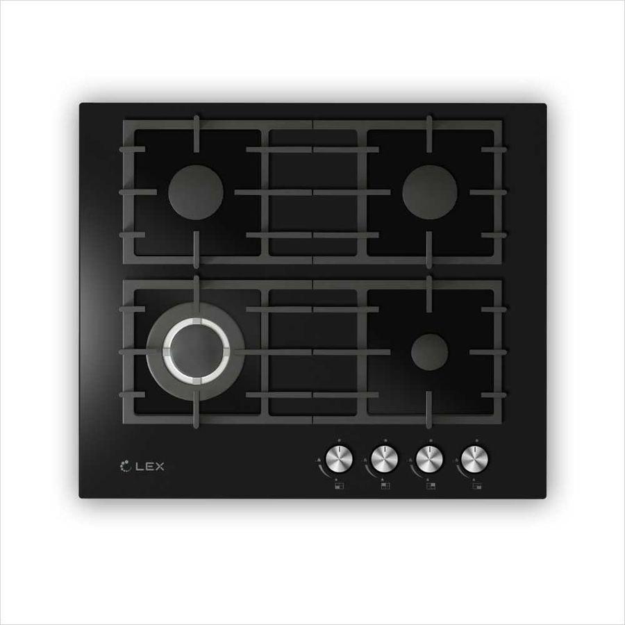 Варочная панель LEX GVG 646 BL,  независимая,  черный